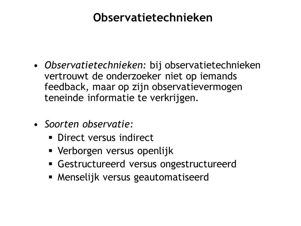 Observatietechnieken