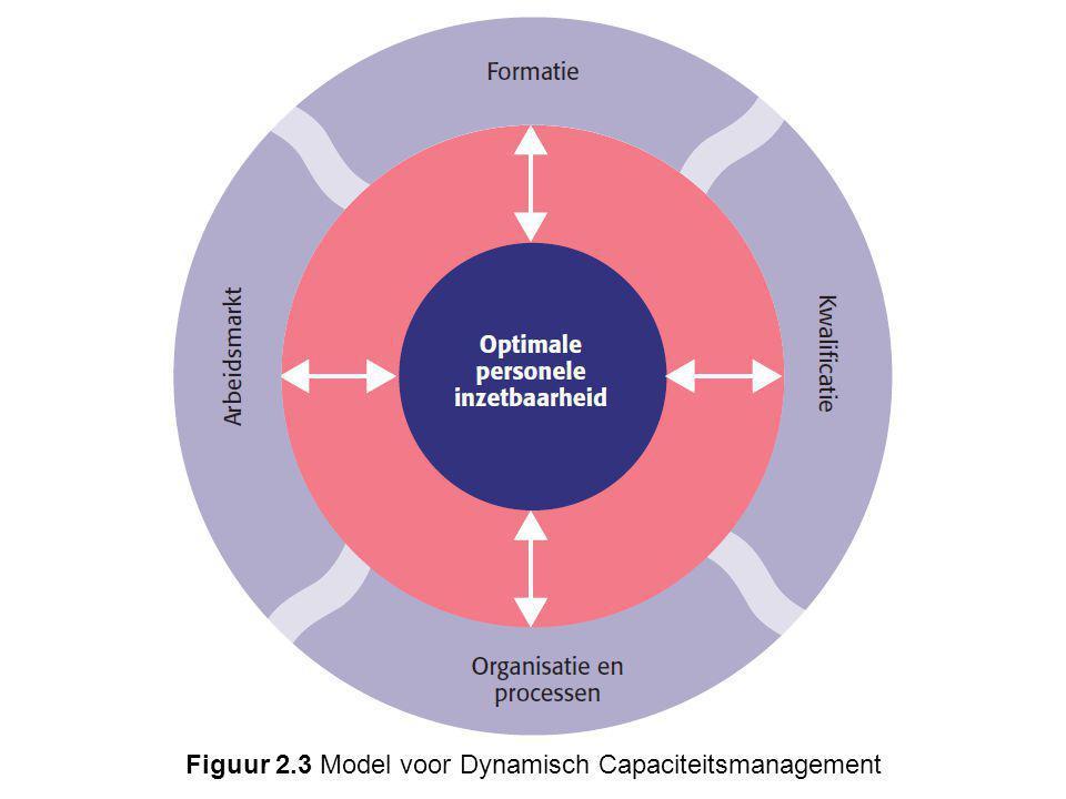 Figuur 2.3 Model voor Dynamisch Capaciteitsmanagement