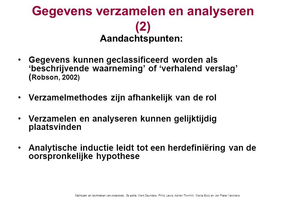 Gegevens verzamelen en analyseren (2)