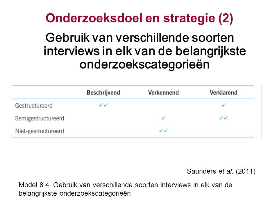Onderzoeksdoel en strategie (2)