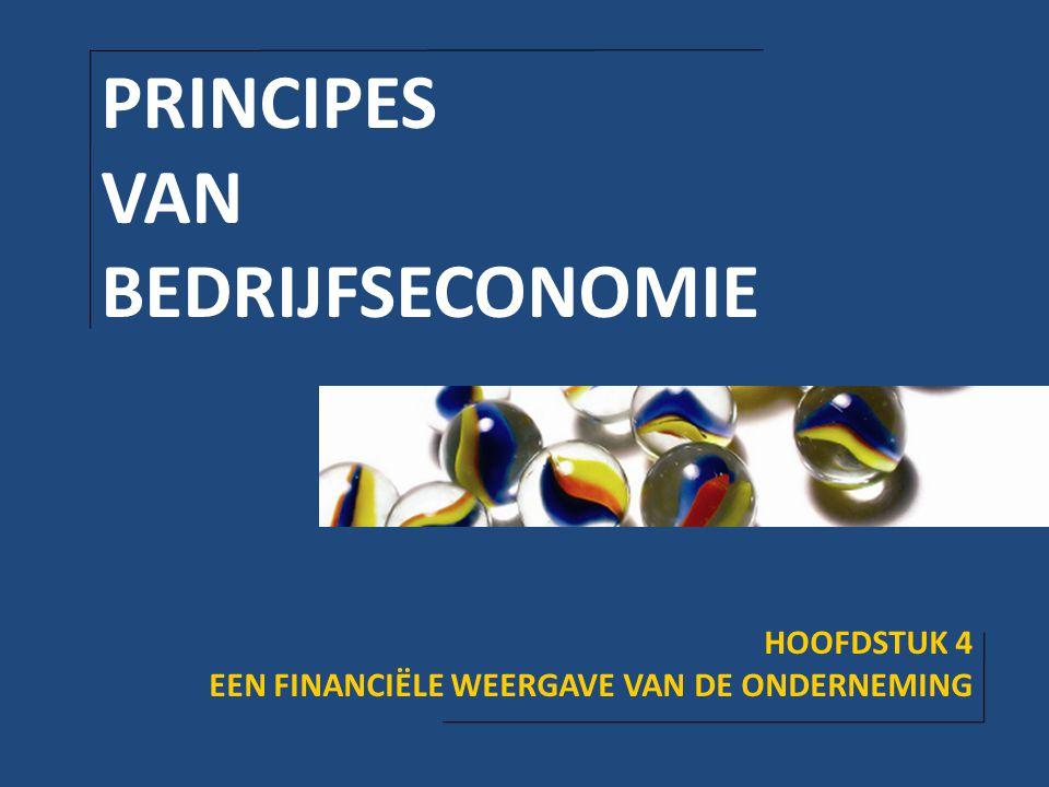 PRINCIPES VAN BEDRIJFSECONOMIE HOOFDSTUK 4
