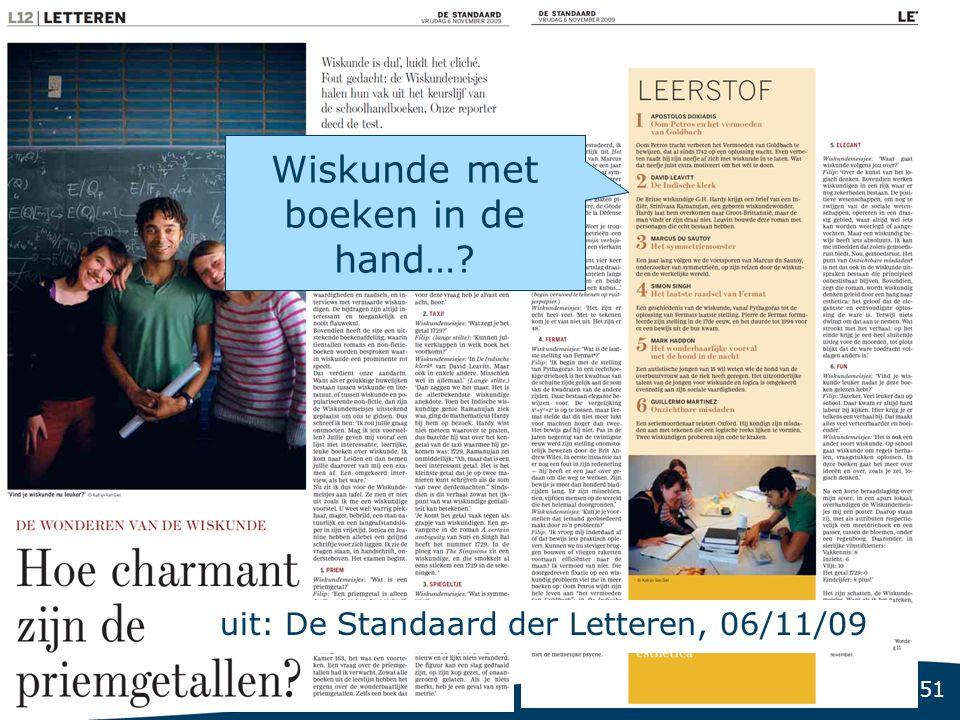 uit: De Standaard der Letteren, 06/11/09
