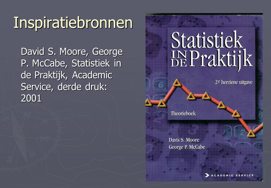 Inspiratiebronnen David S. Moore, George P.