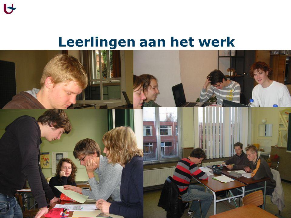 Het werk van leerlingen (2003)