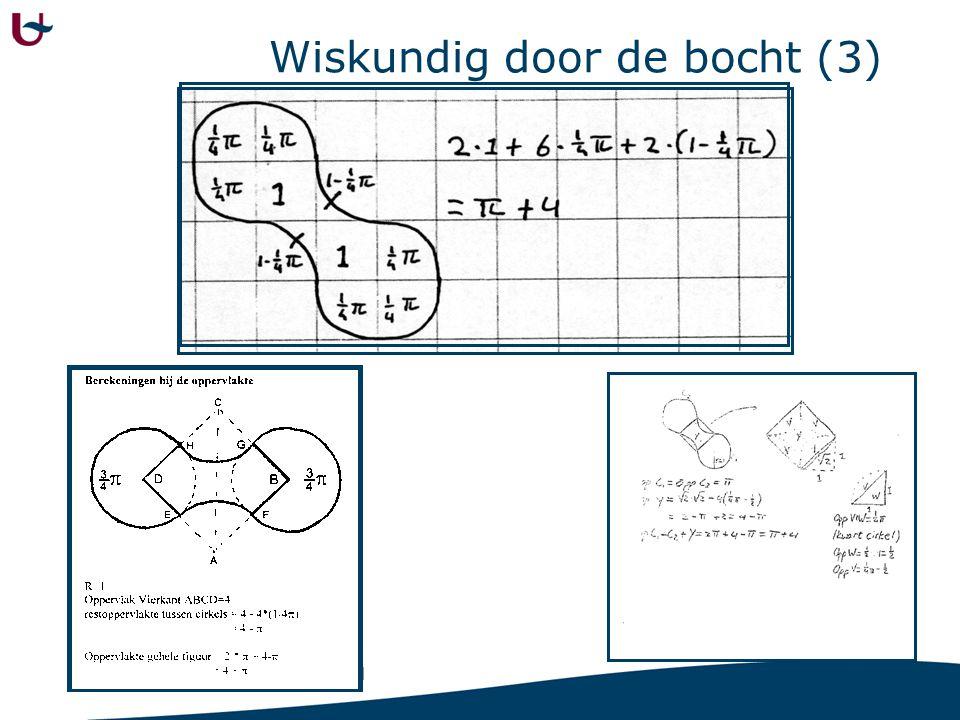 Wiskundig door de bocht (4)