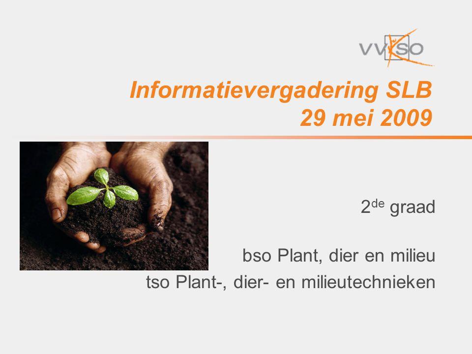 Informatievergadering SLB 29 mei 2009