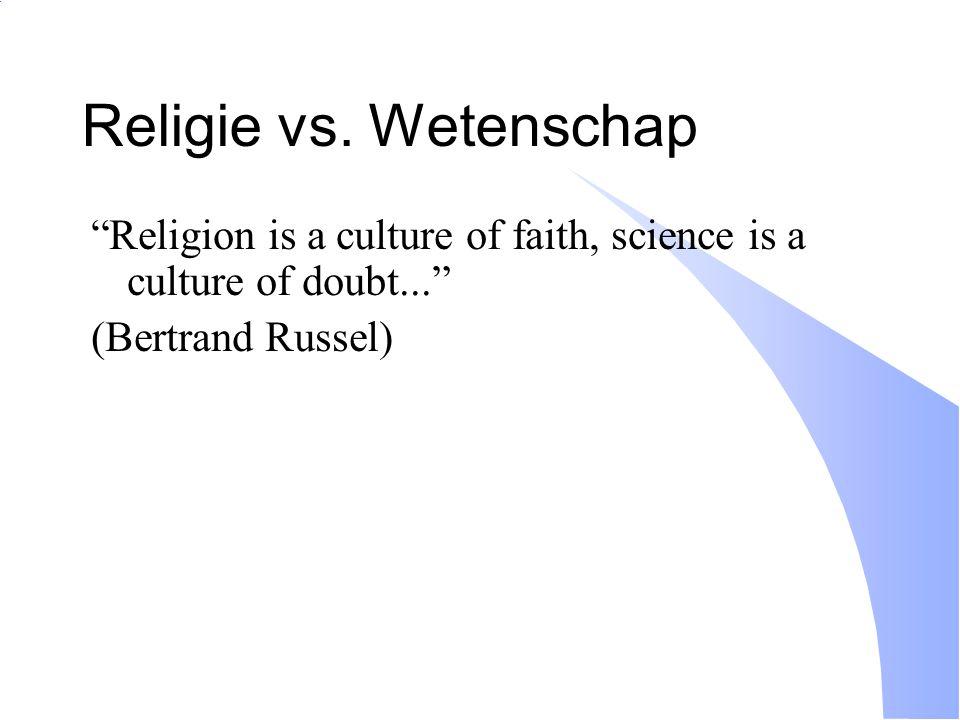 Religie vs.