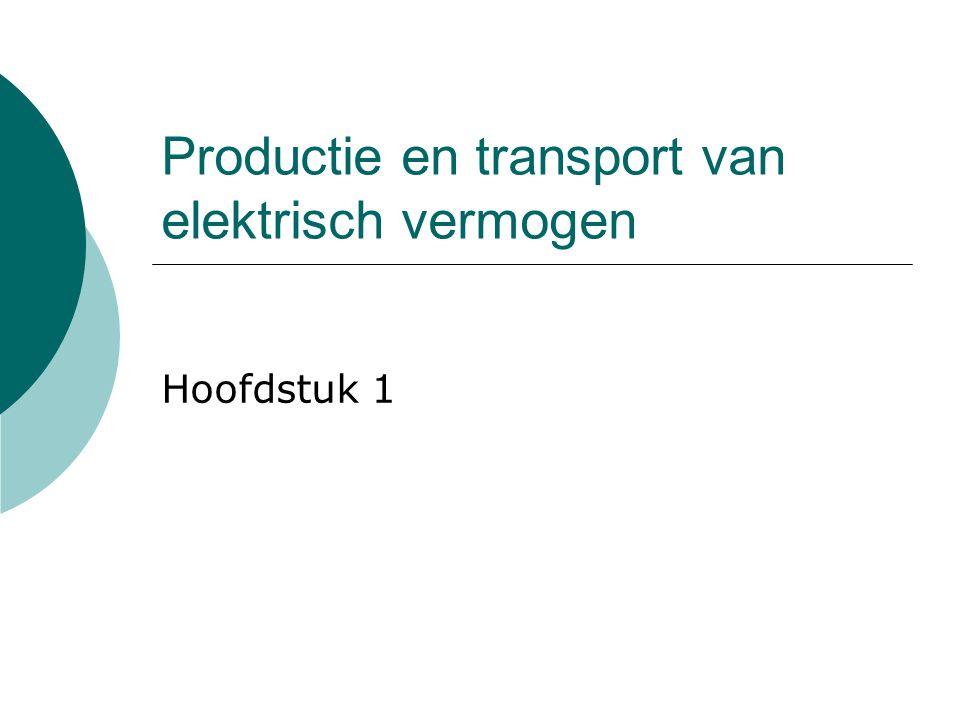 Productie en transport van elektrisch vermogen