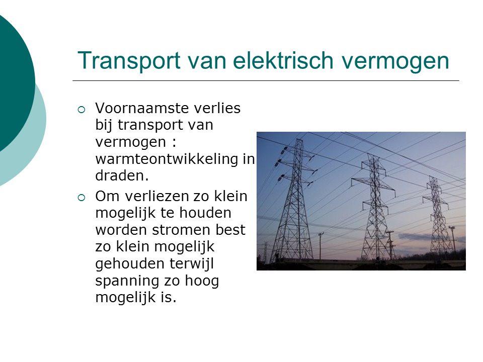 Transport van elektrisch vermogen