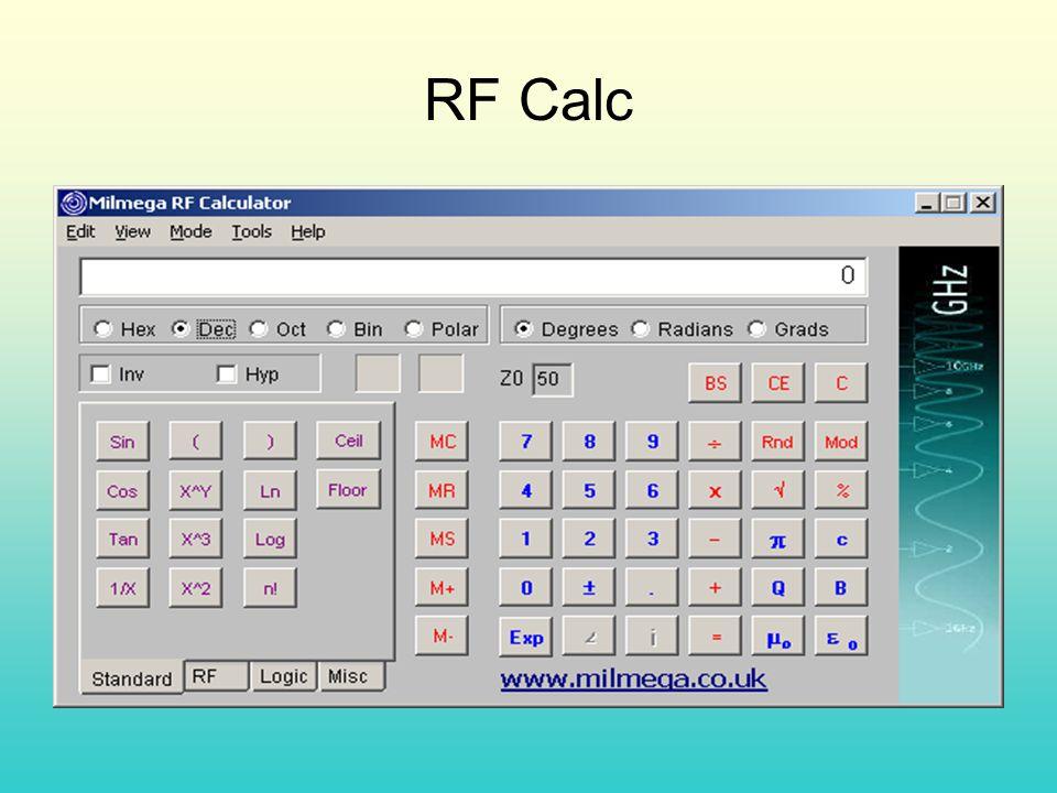 RF Calc
