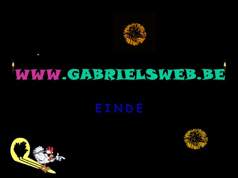 WWW.GABRIELSWEB.BE E I N D E