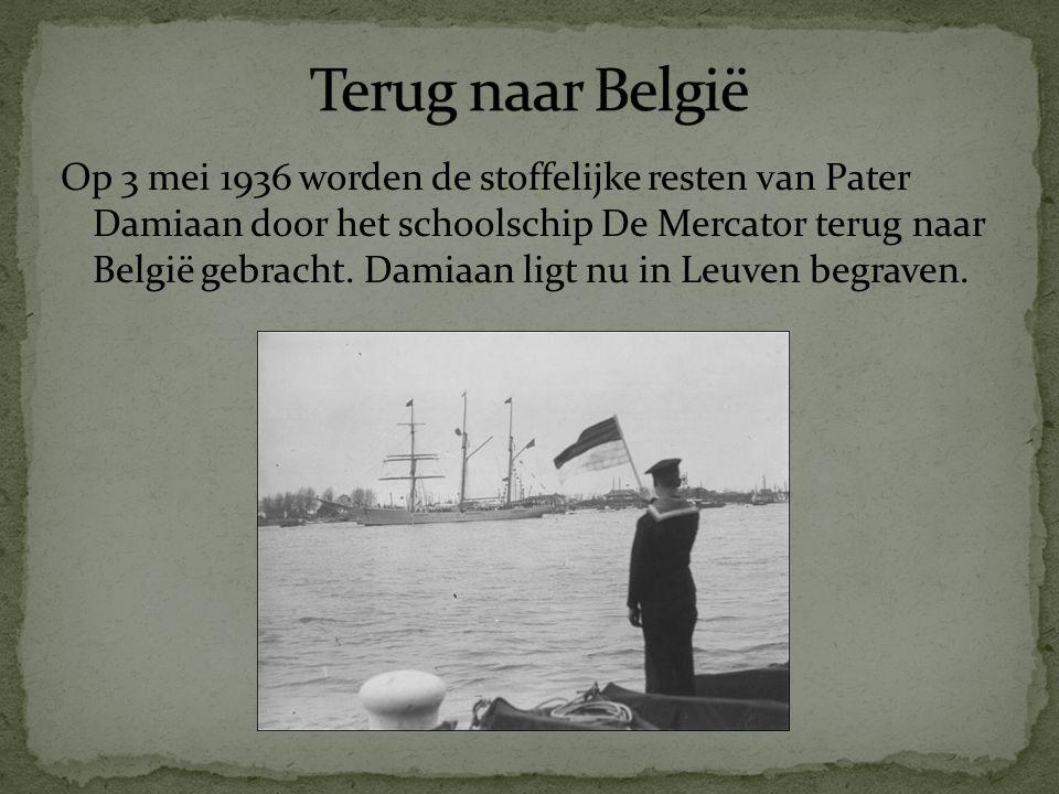 Terug naar België