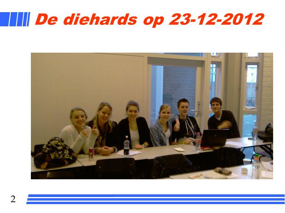 De diehards op 23-12-2012