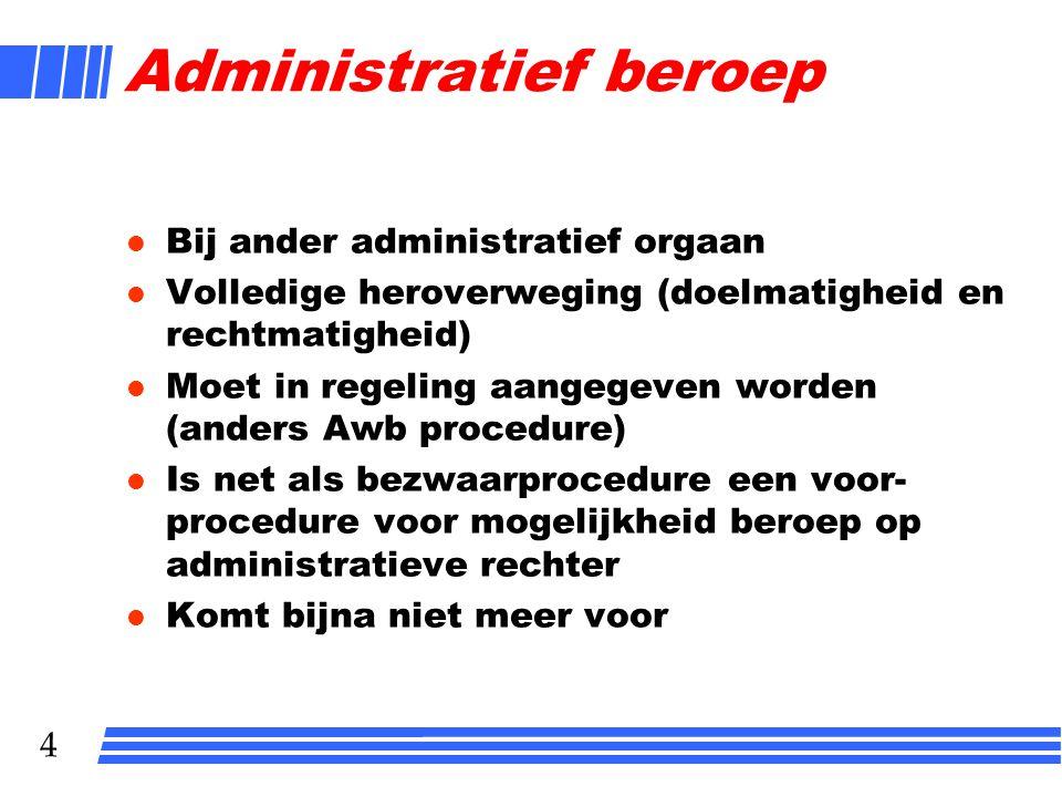 Administratief beroep