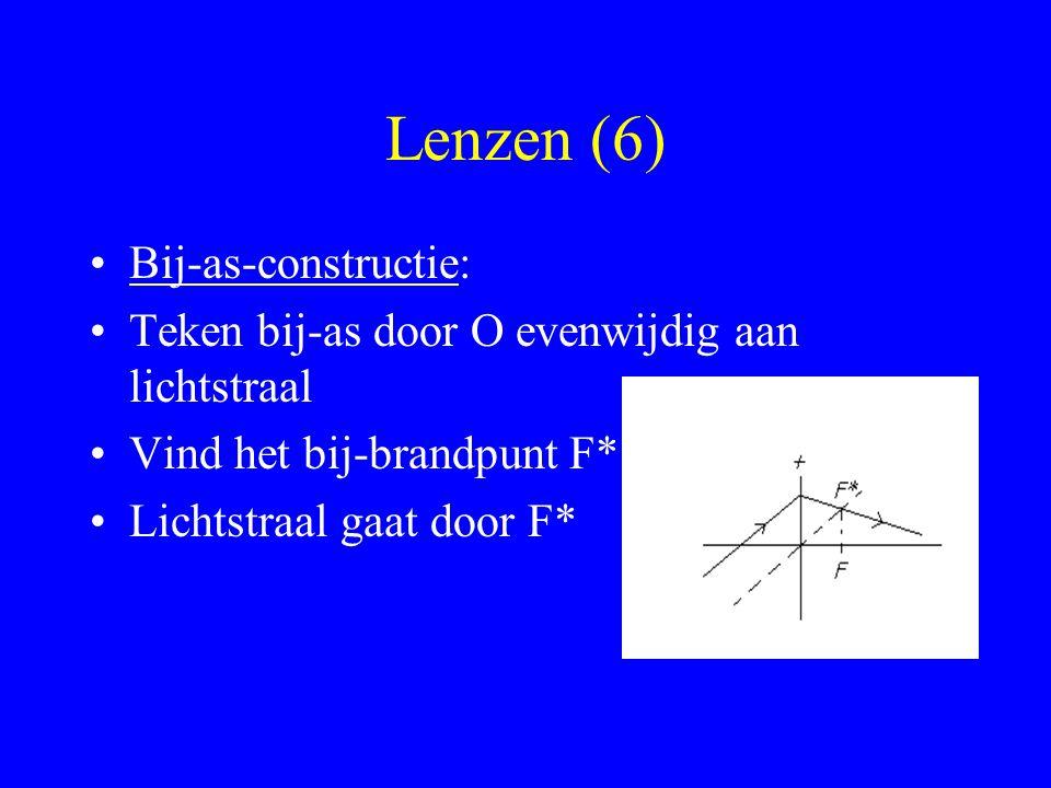 Lenzen (6) Bij-as-constructie: