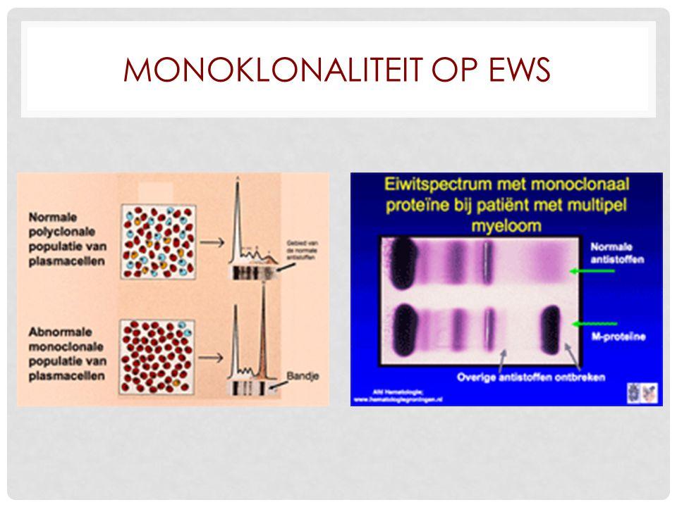 Monoklonaliteit op EWS
