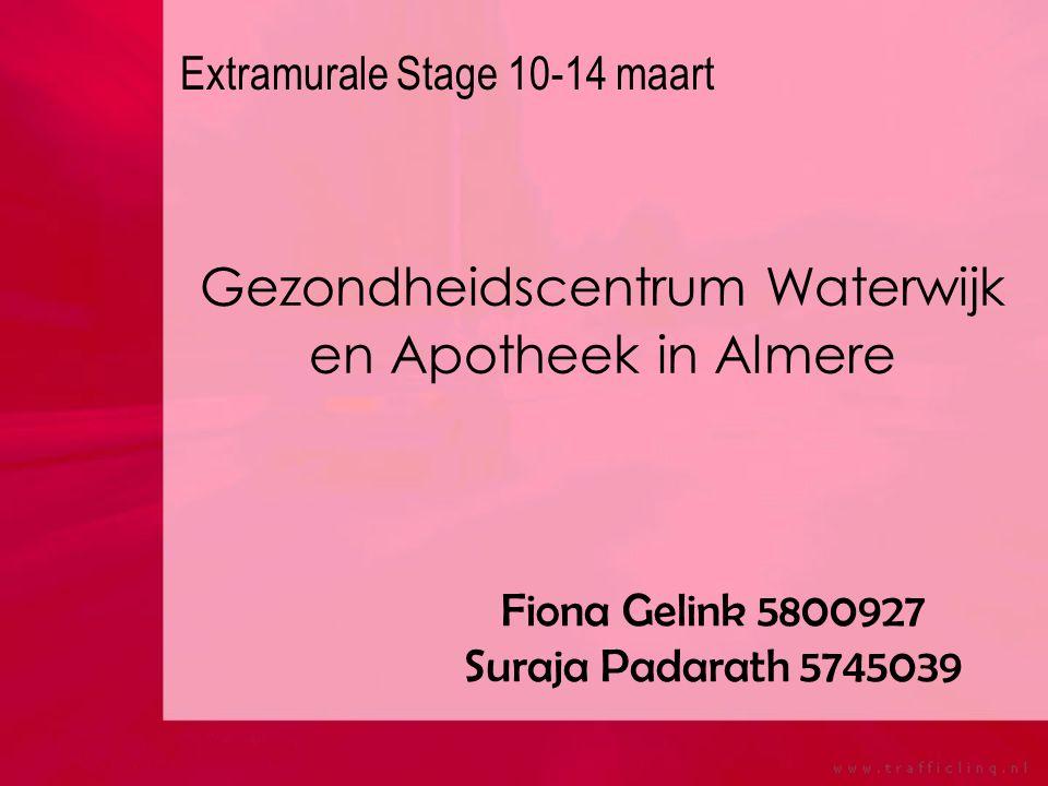 Gezondheidscentrum Waterwijk en Apotheek in Almere