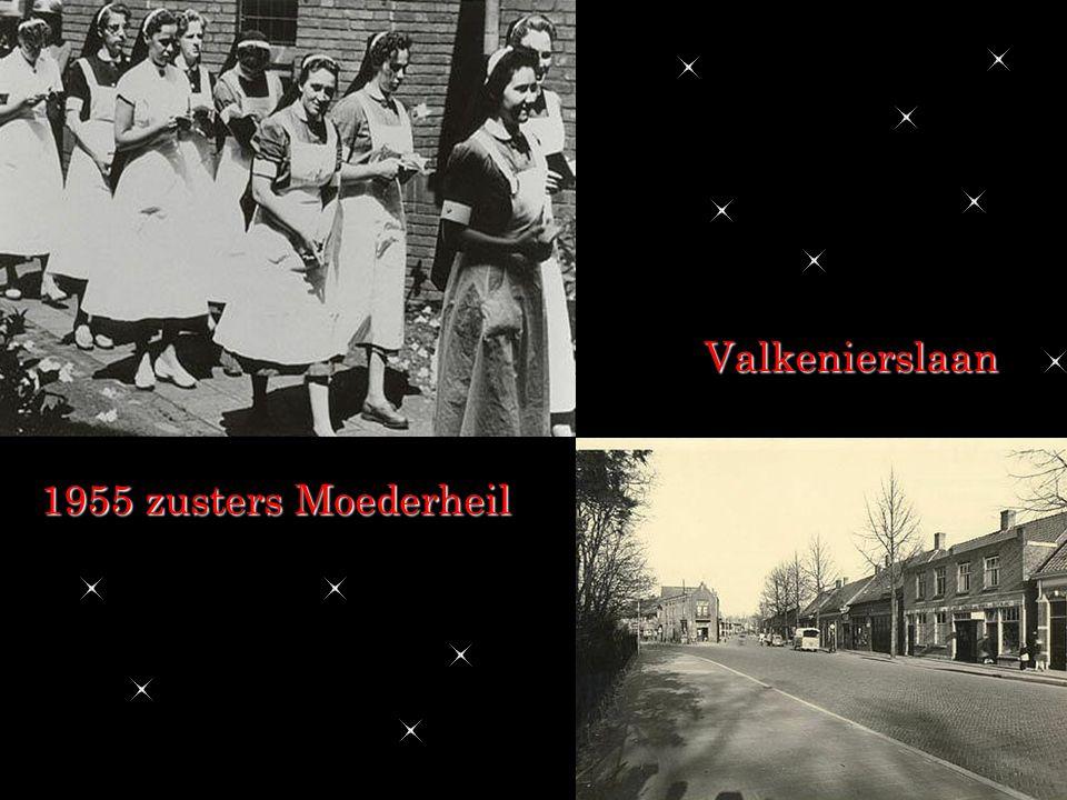 Valkenierslaan 1955 zusters Moederheil