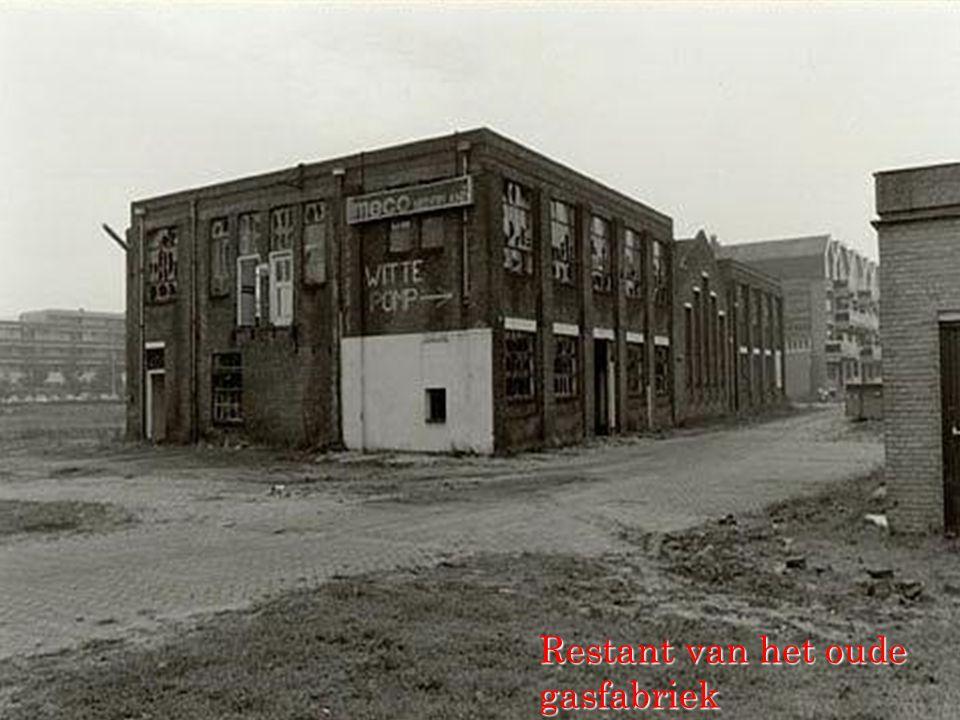 Restant van het oude gasfabriek