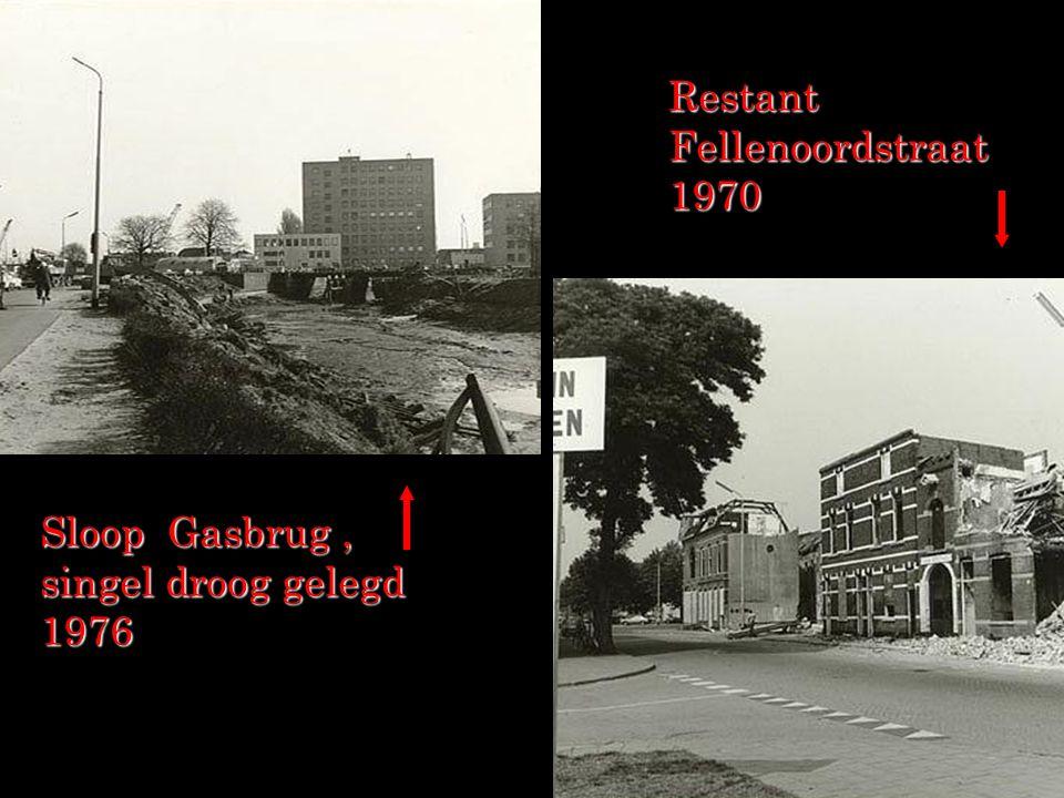 Restant Fellenoordstraat 1970