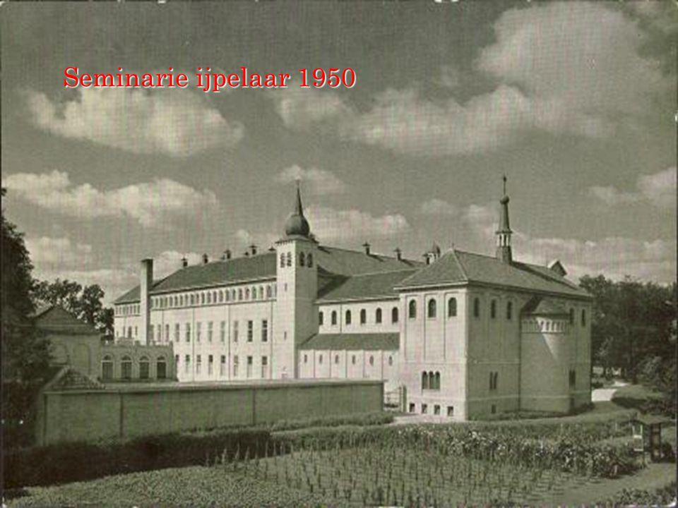 Seminarie ijpelaar 1950
