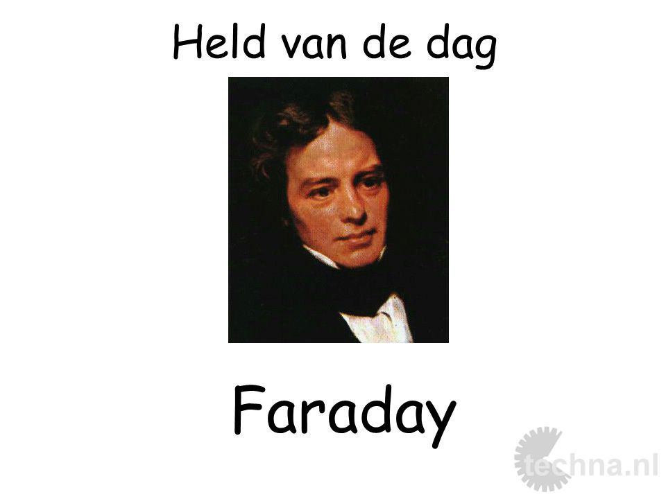 Held van de dag Faraday