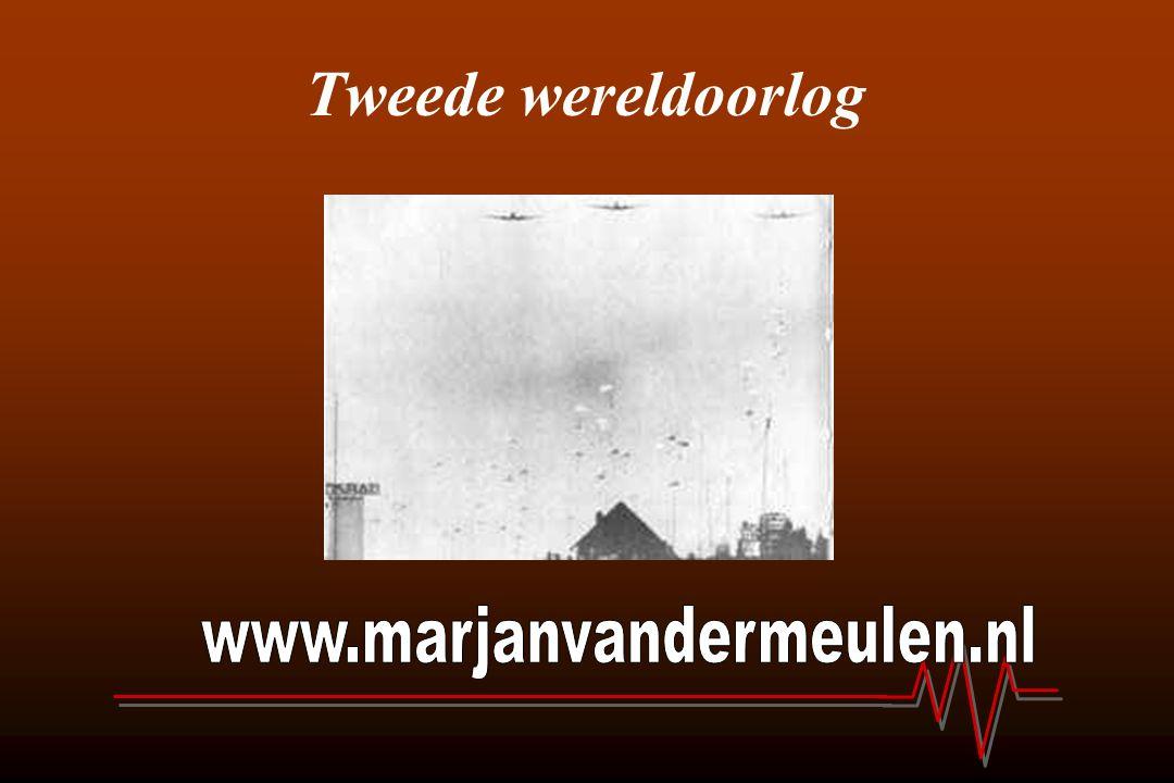 Tweede wereldoorlog www.marjanvandermeulen.nl