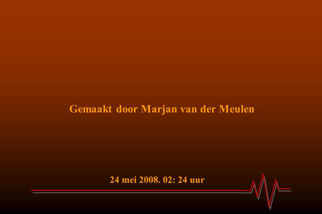 Gemaakt door Marjan van der Meulen