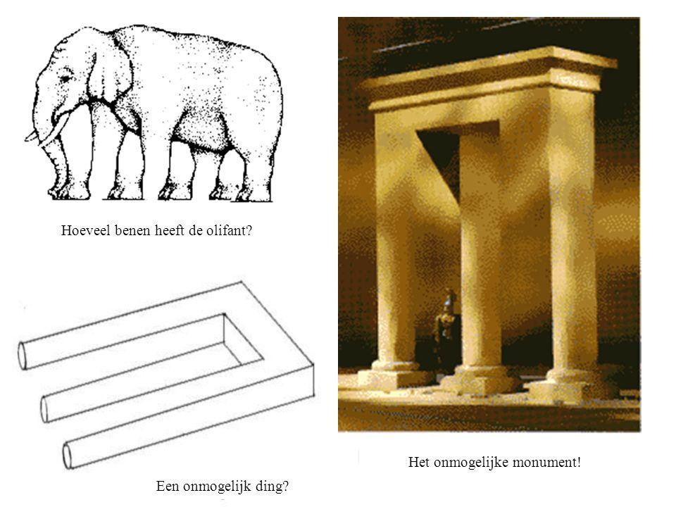 Hoeveel benen heeft de olifant