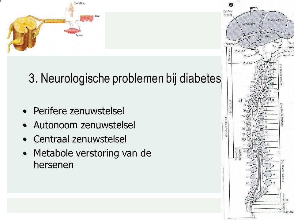 3. Neurologische problemen bij diabetes