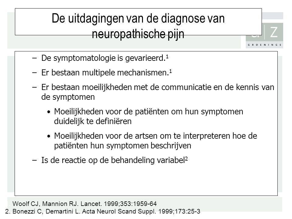 De uitdagingen van de diagnose van neuropathische pijn
