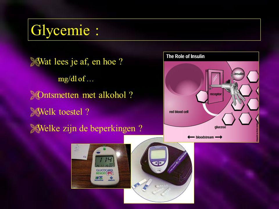Glycemie : Wat lees je af, en hoe mg/dl of …