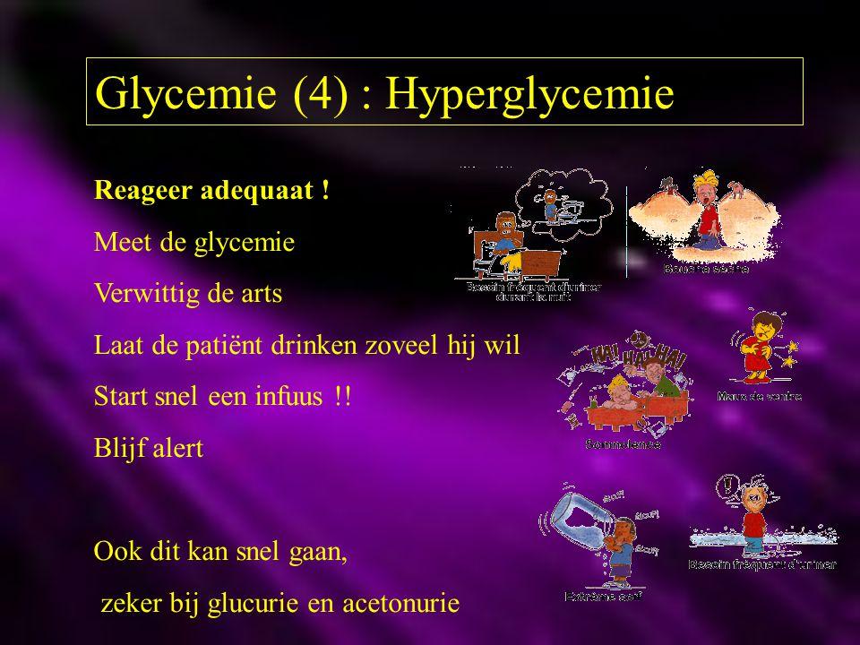 Glycemie (4) : Hyperglycemie