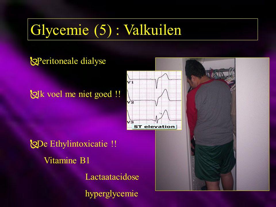 Glycemie (5) : Valkuilen