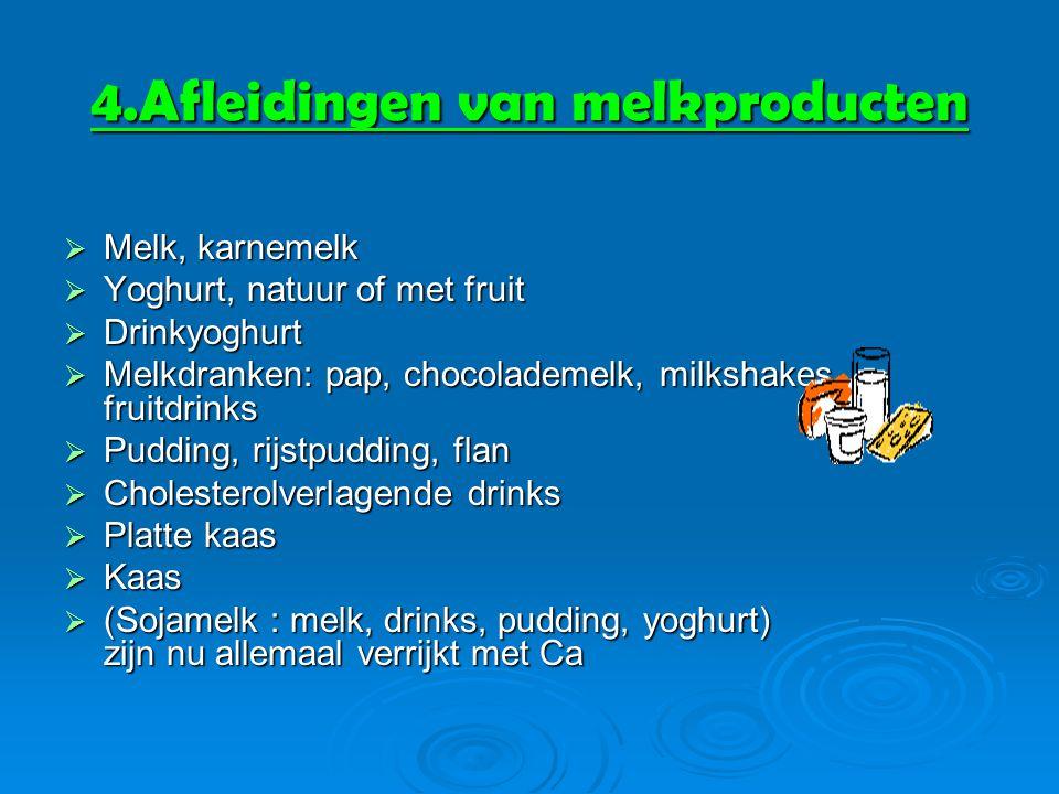 4.Afleidingen van melkproducten