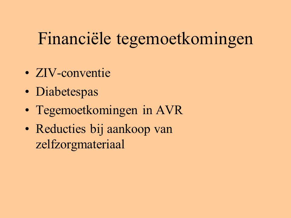 Financiële tegemoetkomingen