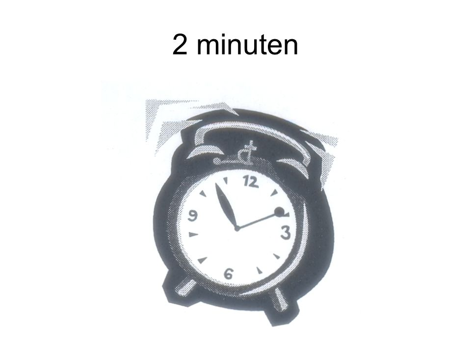 2 minuten