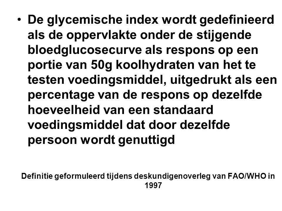 Definitie geformuleerd tijdens deskundigenoverleg van FAO/WHO in 1997