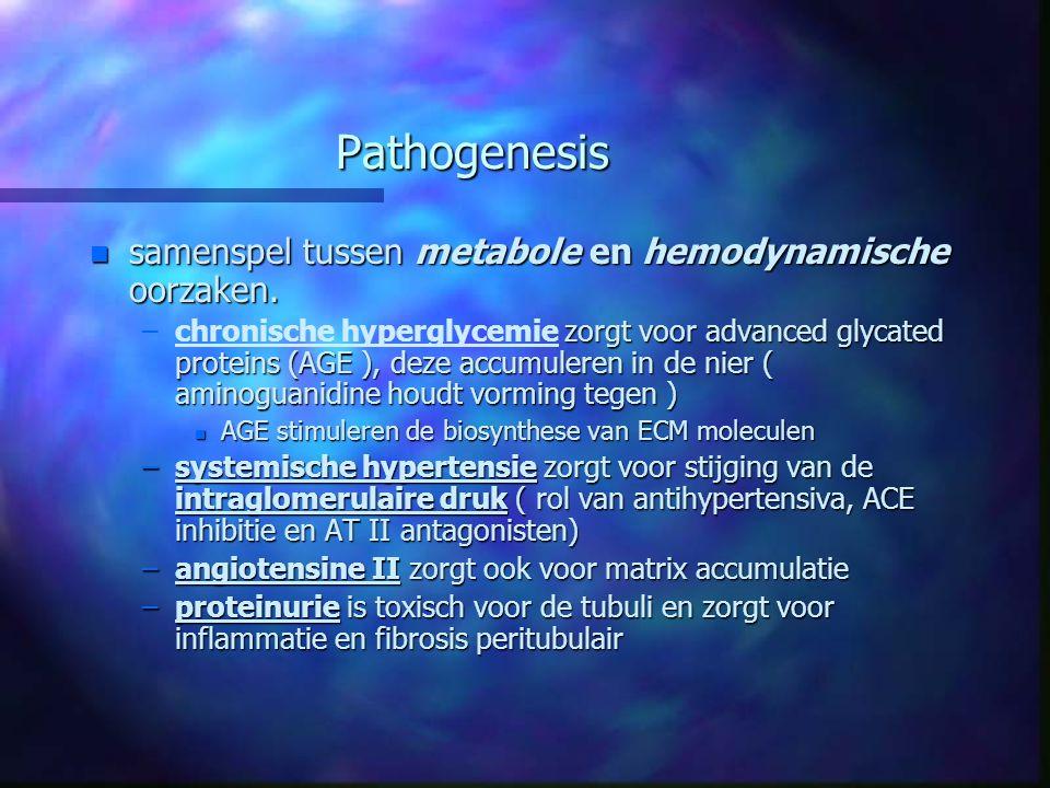 Pathogenesis samenspel tussen metabole en hemodynamische oorzaken.