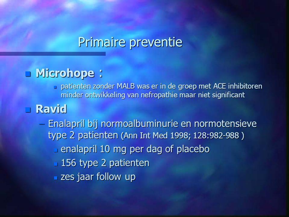 Primaire preventie Microhope : Ravid