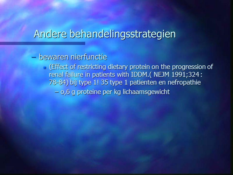 Andere behandelingsstrategien