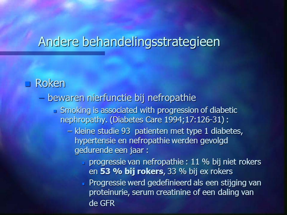 Andere behandelingsstrategieen