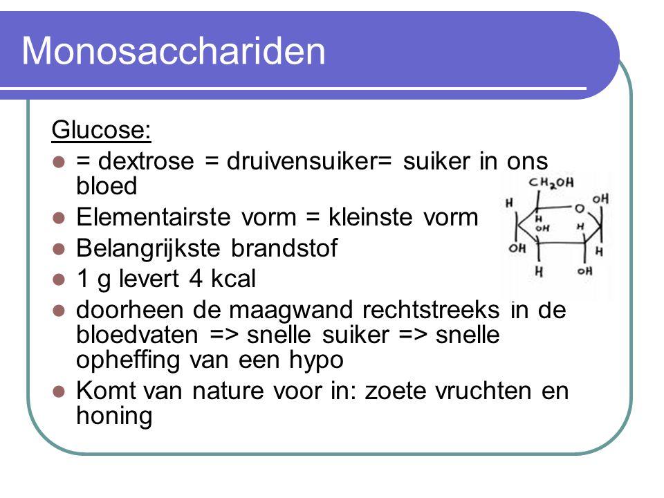 Monosacchariden Glucose: