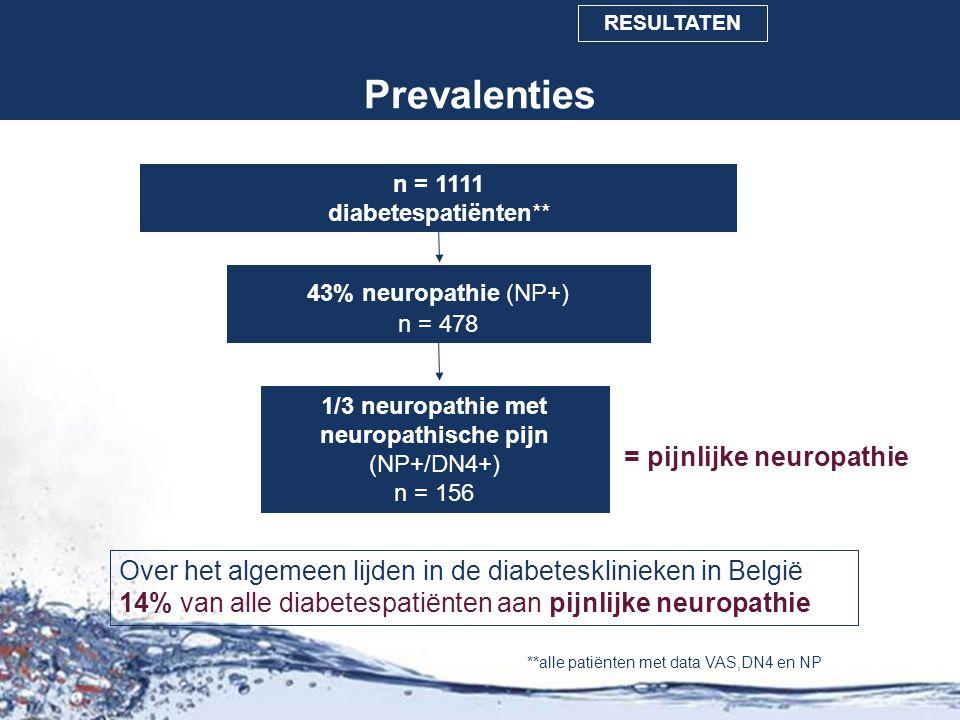 1/3 neuropathie met neuropathische pijn