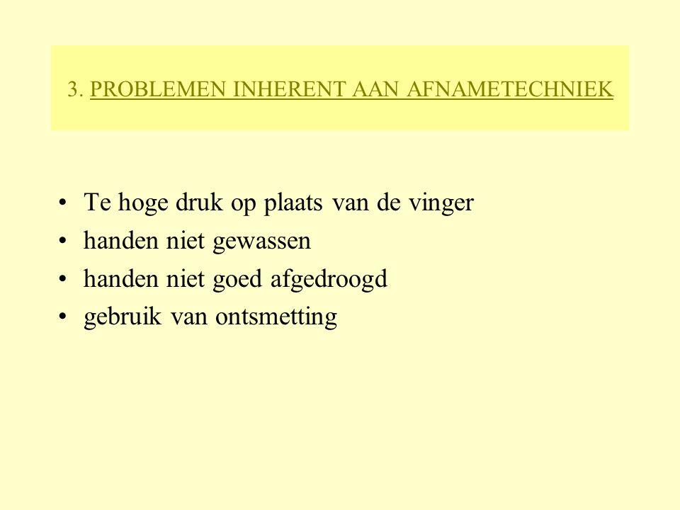 3. PROBLEMEN INHERENT AAN AFNAMETECHNIEK