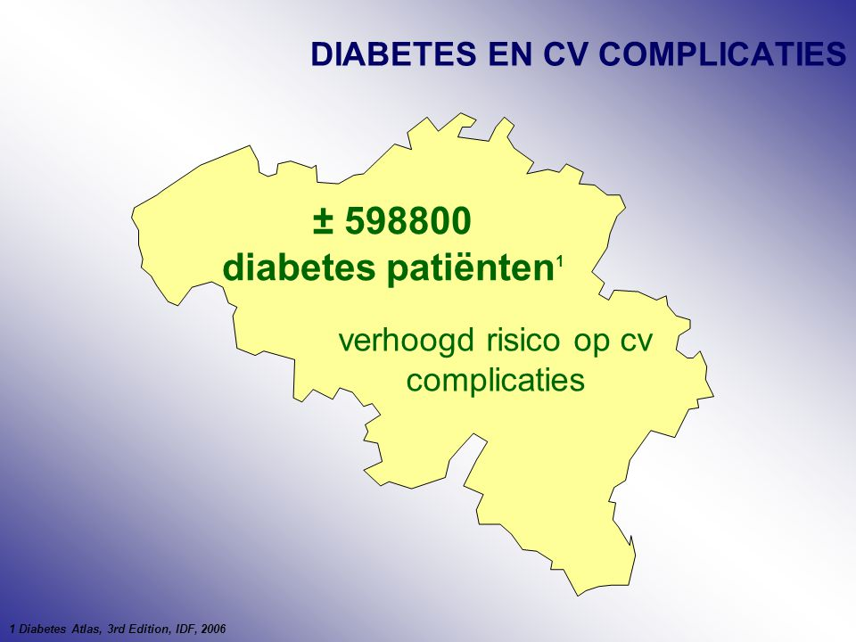DIABETES EN CV COMPLICATIES