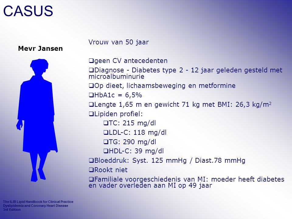 CASUS Vrouw van 50 jaar Mevr Jansen geen CV antecedenten