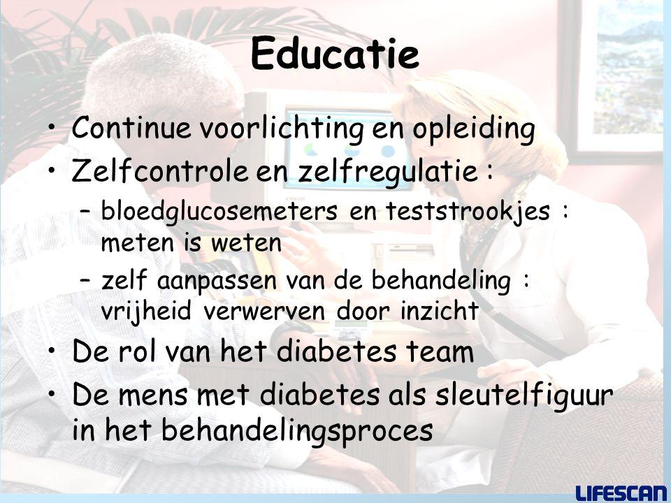Educatie Continue voorlichting en opleiding