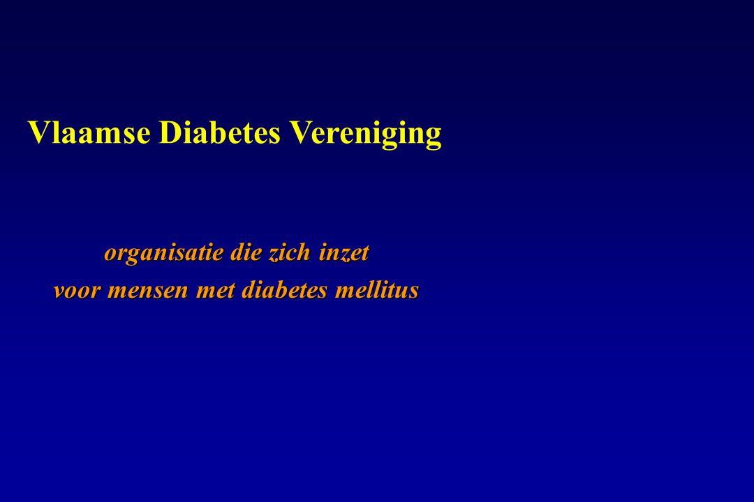 Vlaamse Diabetes Vereniging organisatie die zich inzet