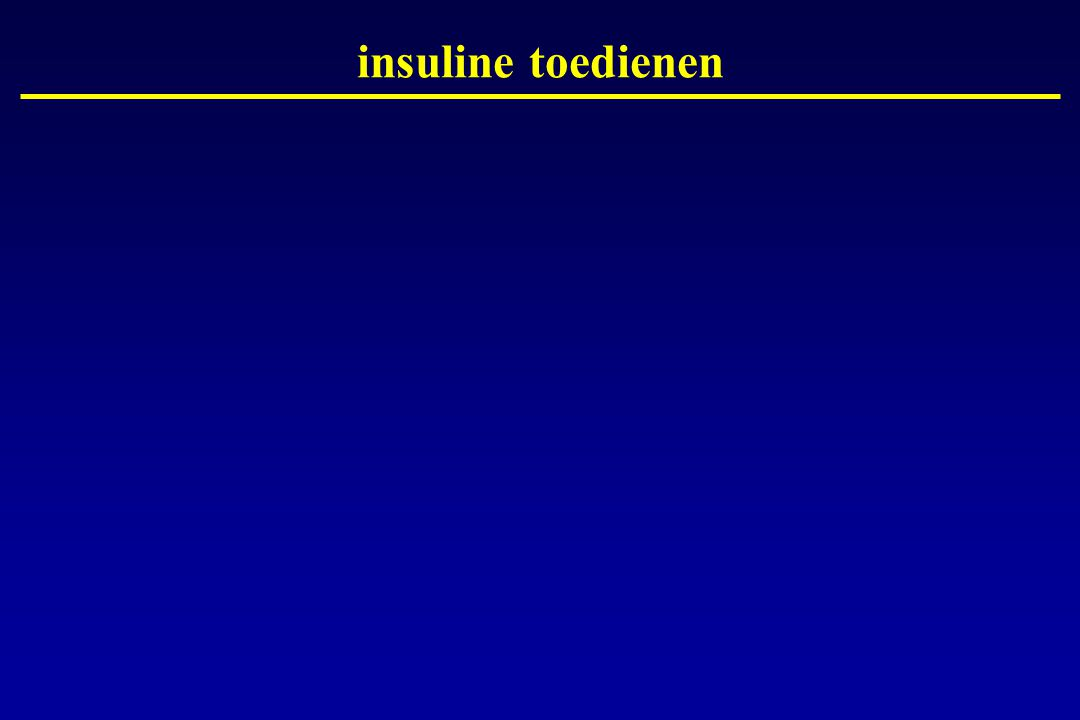 insuline toedienen Dia 7 : Hoe wordt insuline toegediend